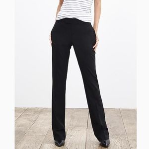 Banana Republic The Martin Fit black trousers